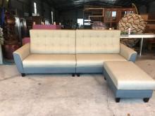 [全新] 大鑫傢俱 新品華特L型貓抓皮沙發L型沙發全新