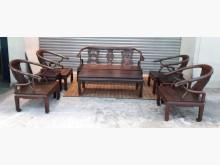 [8成新] 酸枝木沙發8件組椅木製沙發有輕微破損