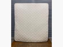[8成新] 白色七尺獨立筒床墊雙人床墊有輕微破損