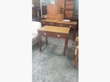 [9成新] 01455-復古風書桌書桌/椅無破損有使用痕跡