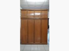 [9成新] 九成新實木6尺置物衣櫃衣櫃/衣櫥無破損有使用痕跡
