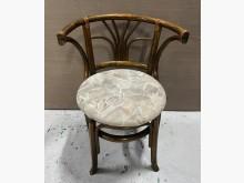 [8成新] 藤製布面餐椅餐椅有輕微破損