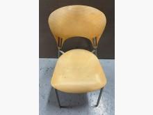 [8成新] F0406AJE 黃色餐椅餐椅有輕微破損