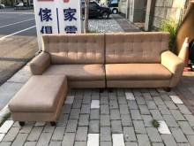 [全新] 大鑫傢俱 新品卡其貓抓皮L型沙發L型沙發全新