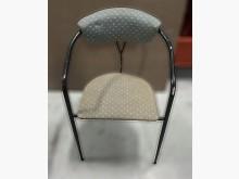 [8成新] 綠布黑腳休閒椅餐椅有輕微破損