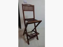 [95成新] 柚木休閒摺疊吧台椅/張其它桌椅近乎全新