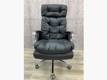 [全新] 大鑫傢俱 黑皮革鐵腳主管椅電腦桌/椅全新