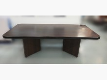 [8成新] 胡桃8尺會議桌 辦公桌辦公桌有輕微破損