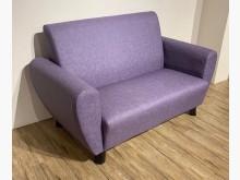 [全新] 新貴派布紋皮雙人沙發 桃園區免運雙人沙發全新