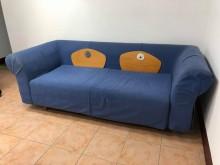 [9成新] 1張布沙發1500元雙人沙發無破損有使用痕跡