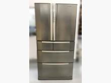 [8成新] 三洋變頻620L三門冰箱冰箱有輕微破損