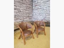 [9成新] 冬暖夏涼粗藤單人沙發 單人椅籐製沙發無破損有使用痕跡