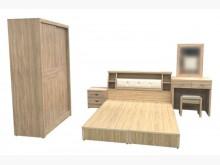 [全新] 床底+床頭+床邊+妝台+椅+衣櫃雙人床架全新
