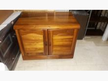 [9成新] 九成新實木電視櫃收納櫃電視櫃無破損有使用痕跡