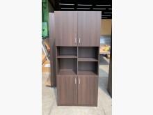 [95成新] 胡桃書櫃/開放書櫃/置物櫃書櫃/書架近乎全新