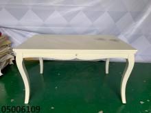 [9成新] 05006109 白色餐桌餐桌無破損有使用痕跡