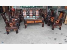 [9成新] 九成新紫檀實木戰國時十件組椅子無破損有使用痕跡
