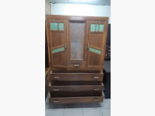 [9成新] 老件檜木實木衣櫃衣櫃/衣櫥無破損有使用痕跡