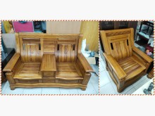 [7成新及以下] 喆 二手傢俱/樟木沙發木製沙發有明顯破損