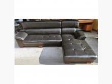 [9成新] 黑色L型沙發L型沙發無破損有使用痕跡
