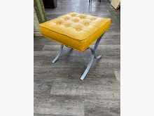 吉田二手傢俱❤黃色皮椅凳其它桌椅無破損有使用痕跡