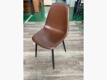 吉田二手傢俱❤全新棕色餐椅商業椅餐椅全新