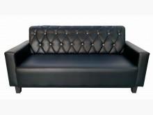[全新] SX14DB*全新黑色3人皮沙發多件沙發組全新