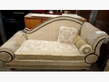[8成新] 大台北二手傢俱-歐美貴妃椅雙人沙發有輕微破損