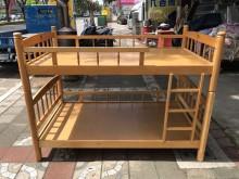 赤楊木色3.4尺上下舖單人床架無破損有使用痕跡