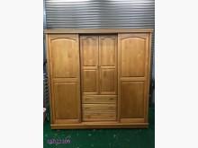 [9成新] 二手/中古 樟木色推門衣櫃衣櫃/衣櫥無破損有使用痕跡