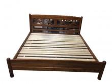 [9成新] *TK51507*6尺實木床架*雙人床架無破損有使用痕跡