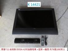 [8成新] K14421 42吋 液晶電視電視有輕微破損