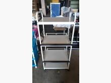 [9成新] 【尚典中古家具】白色廚物電器架收納櫃無破損有使用痕跡