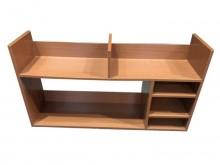 [8成新] *E52608*原木色桌架*書櫃/書架有輕微破損