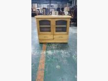 [9成新] 01772-實木電視櫃電視櫃無破損有使用痕跡