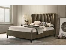 2001571-3曼特寧5尺床雙人床架全新