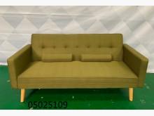 05025109 墨綠色沙發床沙發床無破損有使用痕跡