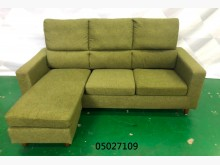 [9成新] 05027109 墨綠色L型沙發L型沙發無破損有使用痕跡