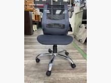 吉田二手傢俱❤黑色透氣網椅OA椅電腦桌/椅無破損有使用痕跡