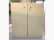 [7成新及以下] C52702*雙門三層公文櫃*辦公櫥櫃有明顯破損