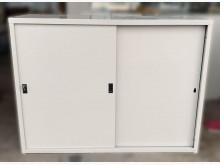 [8成新] C52709*4尺文件鐵櫃*辦公櫥櫃有輕微破損