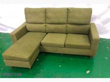 [9成新] 二手/中古 墨綠色L型沙發L型沙發無破損有使用痕跡