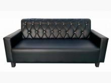[全新] 全新黑色3人皮沙發雙人沙發全新