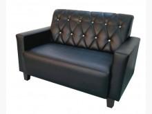 [全新] 全新黑色雙人皮沙發雙人沙發全新