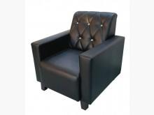 [全新] 全新黑色單人皮沙發單人沙發全新