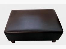 [全新] 全新黑色豆腐腳椅單人沙發全新