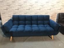 [全新] 大鑫傢俱 限量深藍色兩人座布沙發雙人沙發全新