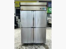 [95成新] 吉田二手傢俱❤四門白鐵全冷藏冰箱冰箱近乎全新