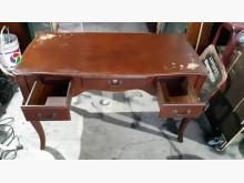 [9成新] 歐式造型法式書桌書桌/椅無破損有使用痕跡