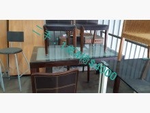 尋寶屋二手~1桌4椅餐桌椅組無破損有使用痕跡